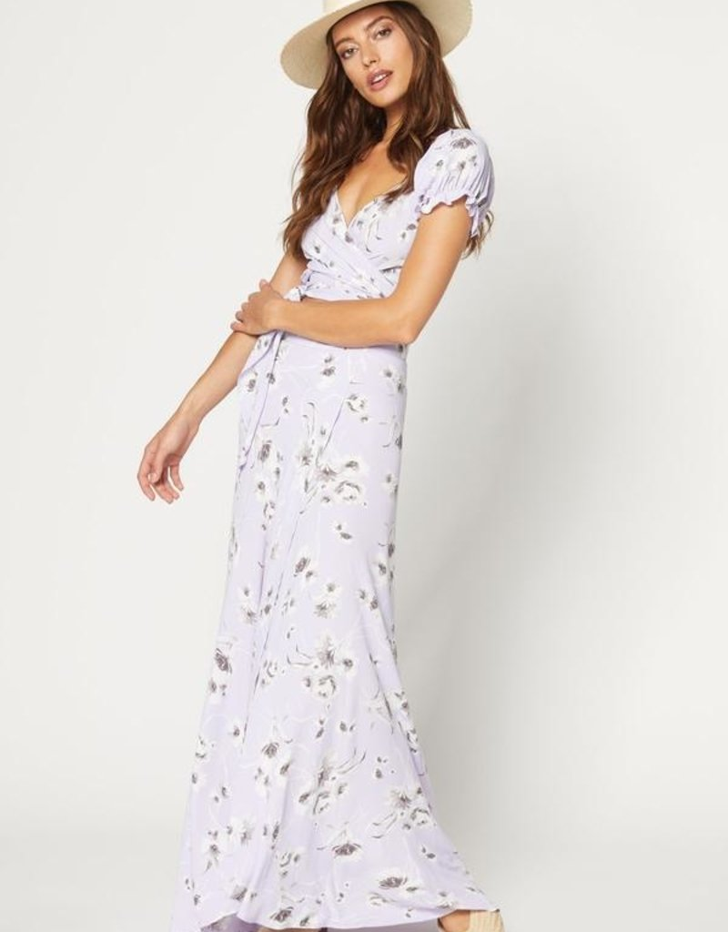 Flynn Skye Flynn Skye - Wrap It Up Skirt in Morning Bouquet