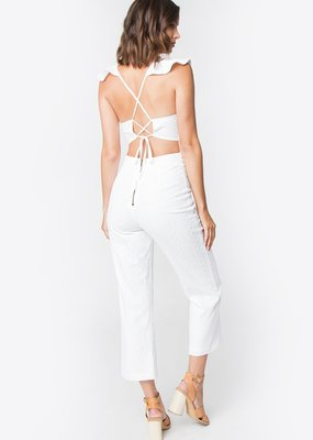 Sugarlips Ryan Ruffle Detail Jumpsuit