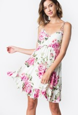 Sugarlips Be Sweet Floral Ruffle Dress