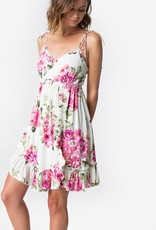 Sugarlips Alanna Floral Ruffle Dress
