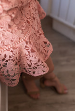 Adelyn Rae Jessa Floral Lace Dress