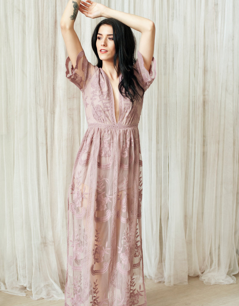 5628baae1a0 ... Honey Punch Lily Embroidered Lace Maxi Jumpsuit  More Colours  ...
