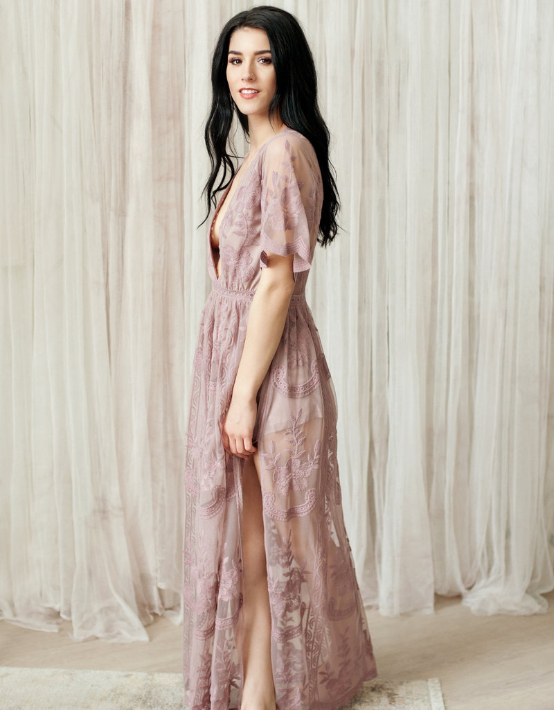 b36ee8eafe93 ... Honey Punch Lily Embroidered Lace Maxi Jumpsuit  More Colours  ...