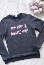 Adorn Collection Clothing Adorn Collection - Top Knot Sweatshirt *More Colours*