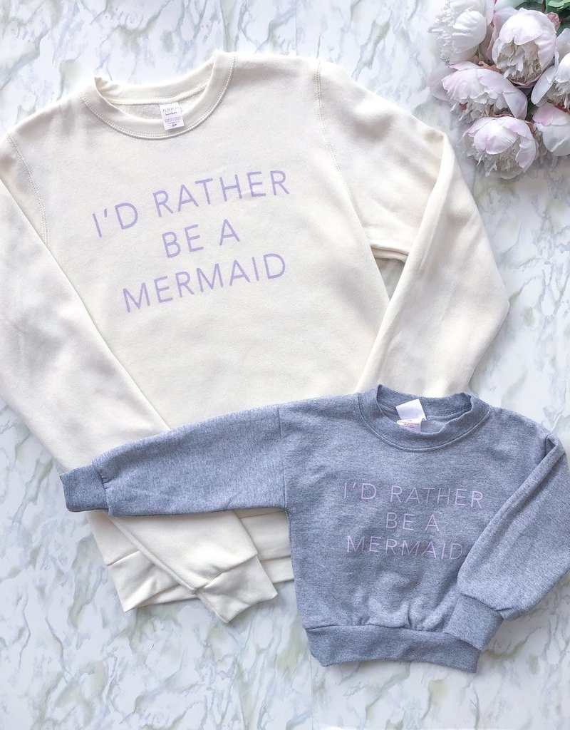 Adorn Collection *New* Adorn Collection - Kids Mermaid Sweatshirt