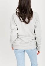 Brunette the Label BTL - Redhead Sweatshirt in Pebble Grey