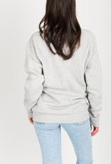 Brunette the Label BTL - Brunette Sweatshirt in Pebble Grey