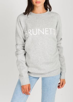 Brunette the Label Brunette the Label - Brunette Sweatshirt in Pebble Grey