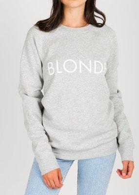 Brunette the Label Brunette the Label - Blonde Sweatshirt in Pebble Grey