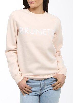 Brunette the Label Brunette the Label - Brunette Sweatshirt in Peach
