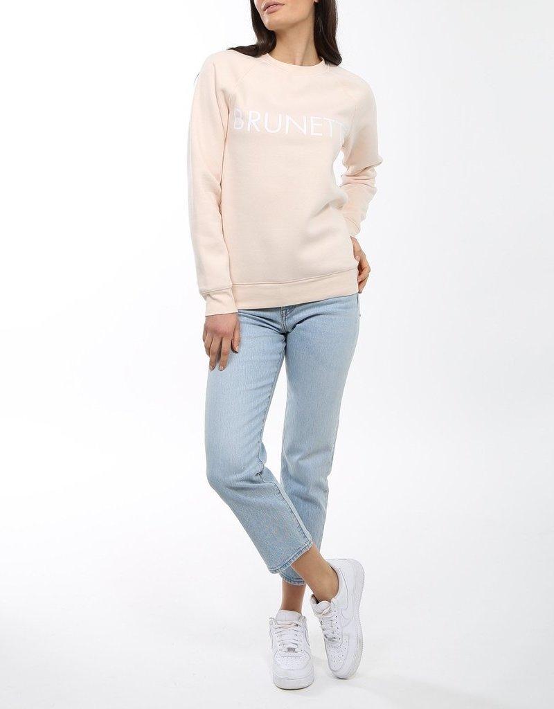 Brunette the Label BTL - Brunette Sweatshirt in Peach