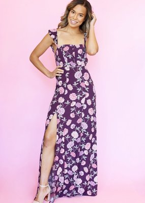 Flynn Skye Flynn Skye - Bardot Maxi Dress Full Bloom