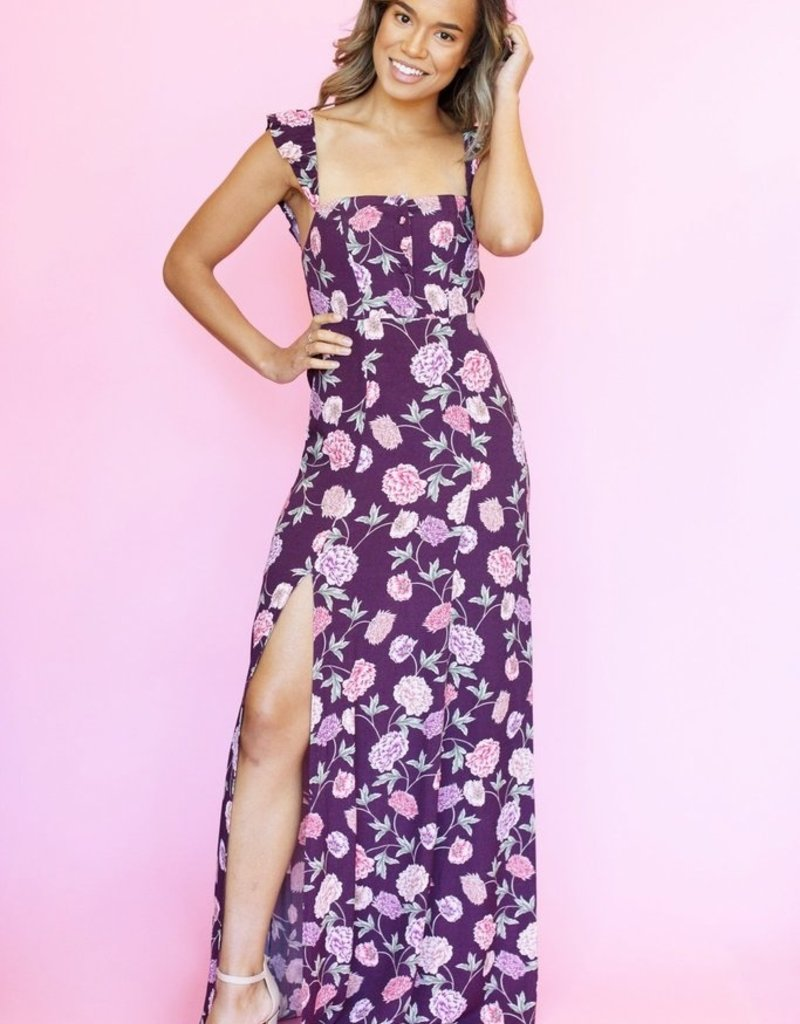 4e93424afc0 Flynn Skye - Bardot Maxi Dress Full Bloom - Adorn Boutique