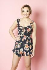Flynn Skye Flynn Skye - Mimi Romper in Pastel Blooms