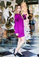 Cupcakes & Cashmere Jana Ruffle Dress