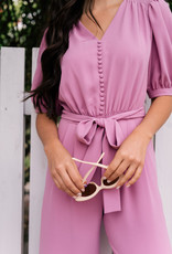 Gal Meets Glam Gal Meets Glam - Gabriella Orchid Jumpsuit