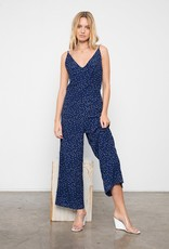 Rails Rails - Gabrielle Jumpsuit in Navy Speckled Dot