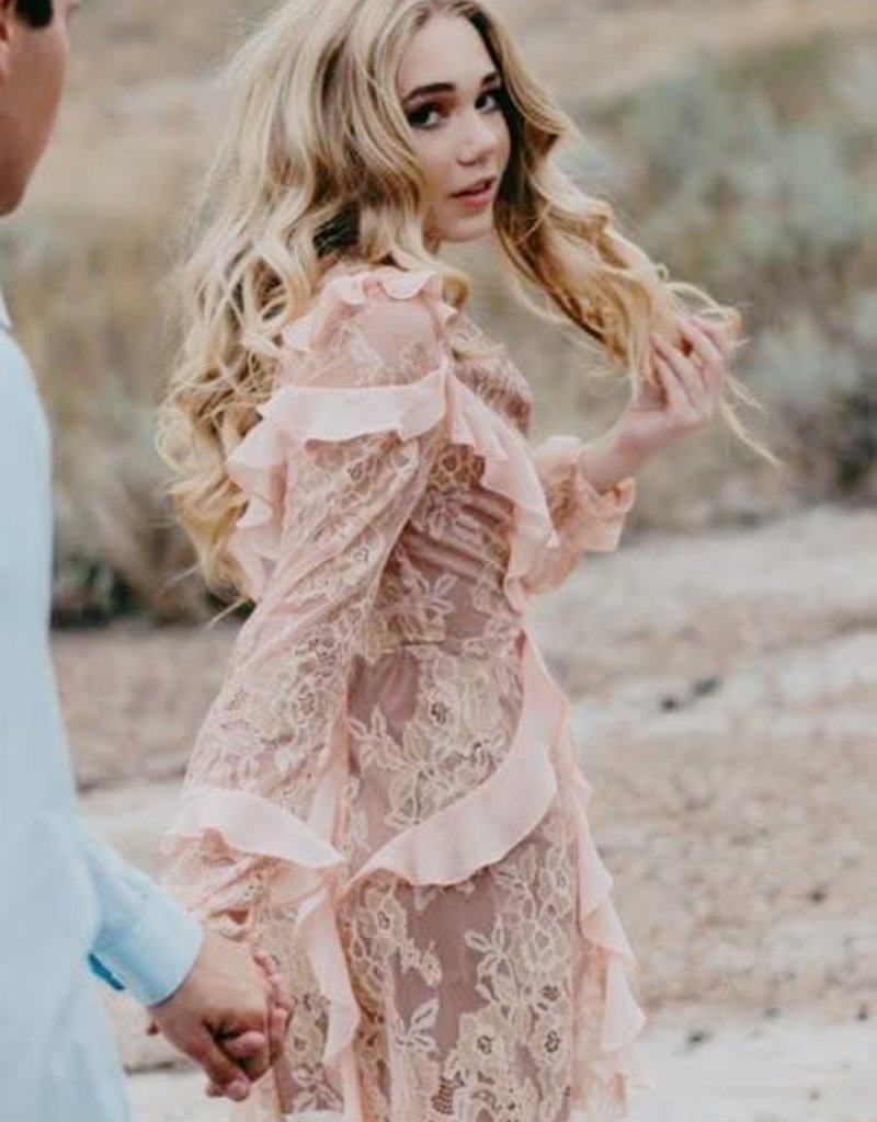 a62a1c9a135 ... For Love and Lemons For Love and Lemons - Bumble Long Sleeve Ruffle  Dress  More ...
