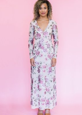 Show Me Your Mumu Show Me Your Mumu - Carmella Maxi Romper in Petal to the Metal
