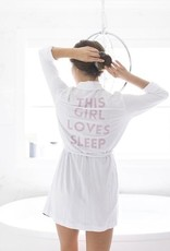 Privilege This Girl Loves Sleep Robe
