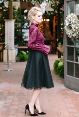 Space46 Soft Wendy Tulle Skirt - Black