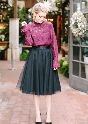 Space46 Tulle Skirt - Black