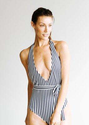 Londre Londre Bodywear Multiway Navy Stripe