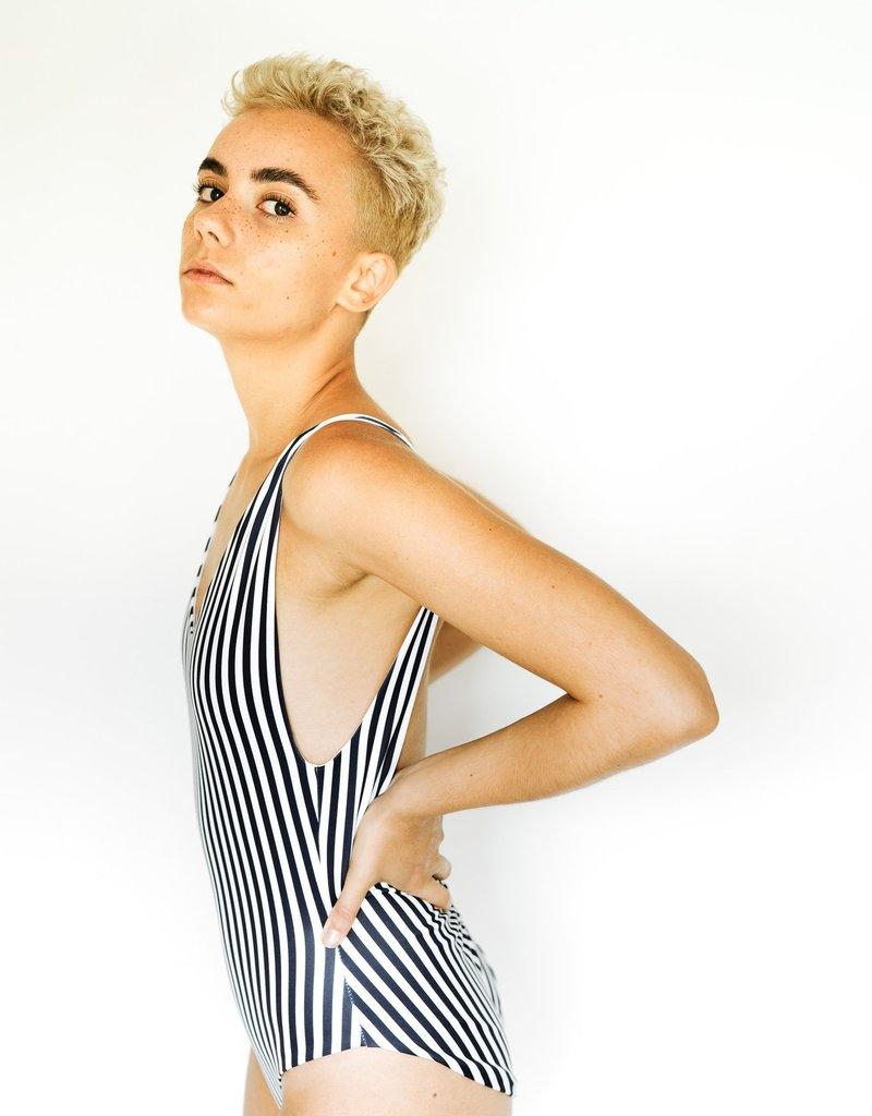 Londre Londre Bodywear Minimalist Navy Stripe
