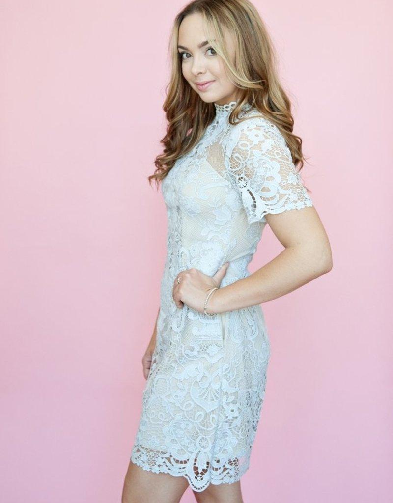 Keepsake Keepsake - Ornate Lace Mini Dress