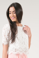 Space46 Layered Lace Top