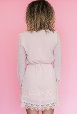Shilla Elaina Lace Trim Dress