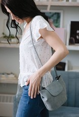 Colab Misty Small Suede Cross-Body Bag