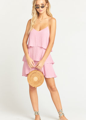Show Me Your Mumu Show Me Your Mumu - Suarez Ruffle Dress Primrose Silky Dots