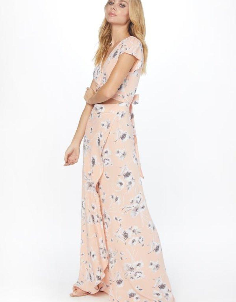 Flynn Skye Flynn Skye - All Wrapped Up Maxi Dress in Evening Bouquet