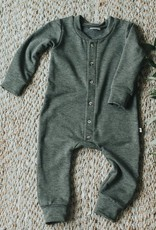 Jax & Lennon Jax & Lennon - Fleece Long Sleeve Romper *More Colours*