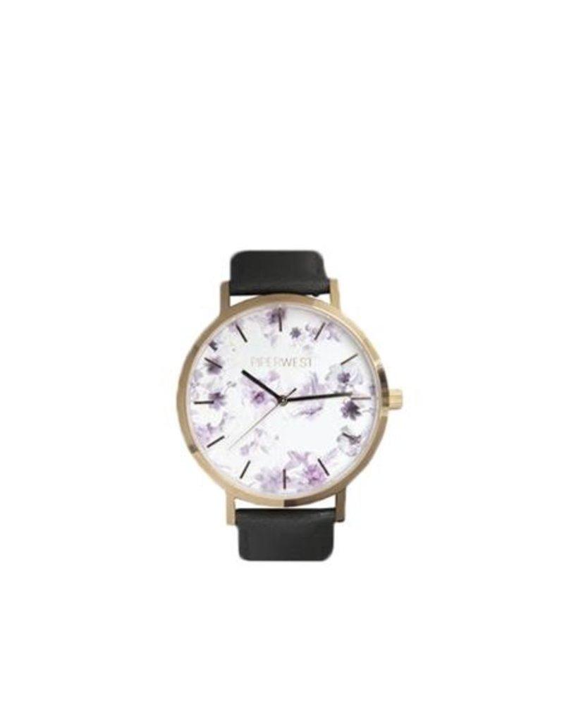 Piper West Piperwest Mini Floral Minimalist Watch
