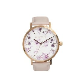 Piper West Piperwest Mini Floral Minimalist Watch