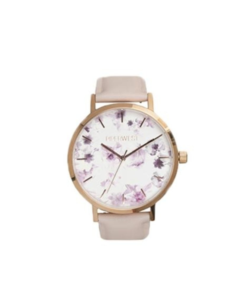 Piperwest Piperwest Mini Floral Minimalist Watch