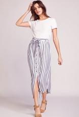BB Dakota Stripe I Like Button Down Maxi Skirt