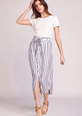 BB Dakota Stripe I Like Button Down Maxi Skirt