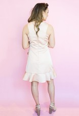 Shilla Sienna V-Neck Frill Dress