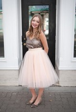 Space46 Tulle Skirt - Peachy Blush