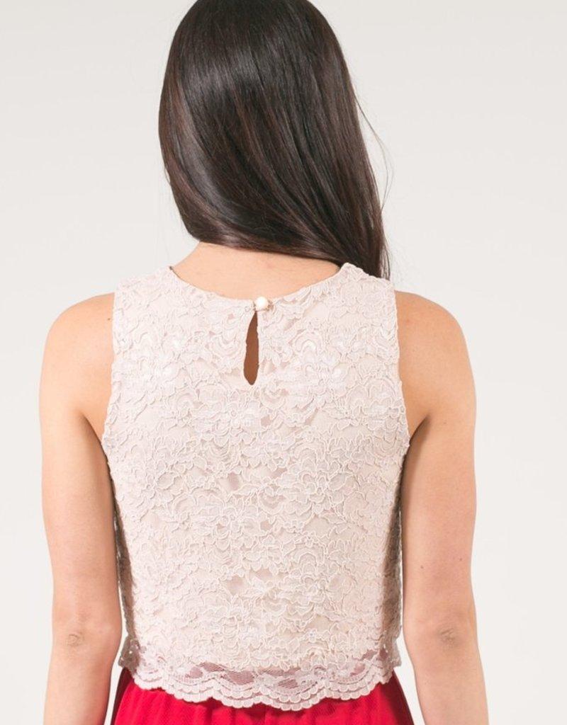 Space46 Kari Lace Crop Top *More Colours*