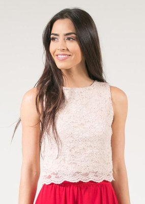 Space46 Kari Lace Crop Top *More Colours*