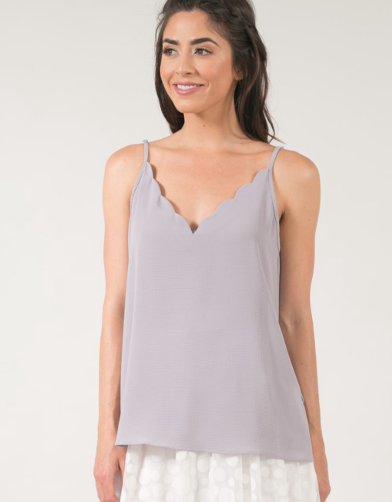 Space46 Fiona Scalloped Camisole *More Colours*