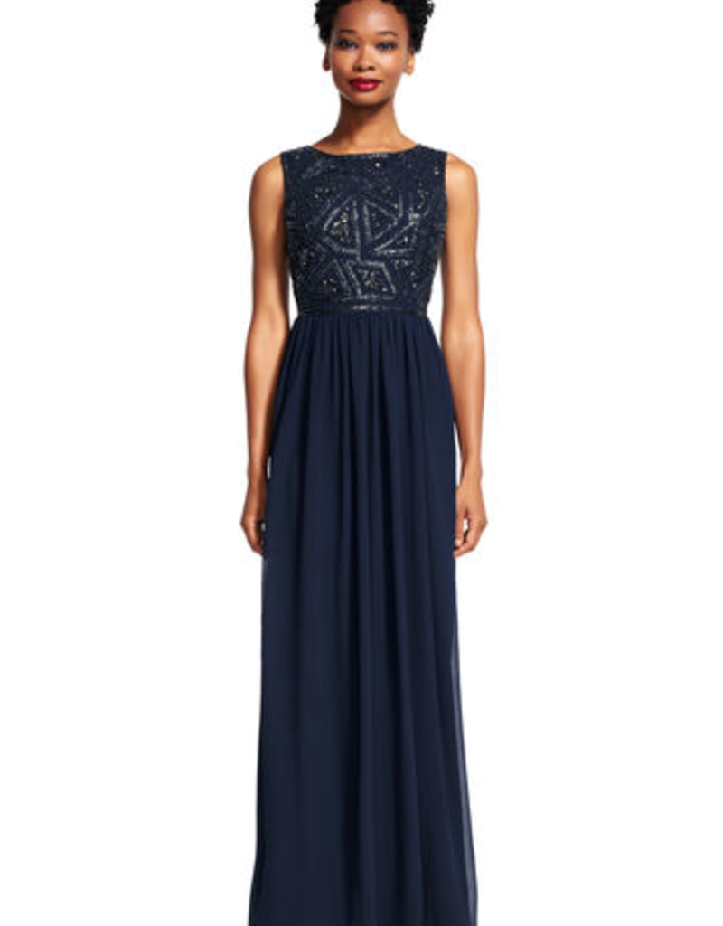 Adrianna Papell Adrianna Papell Beaded Maxi Dress