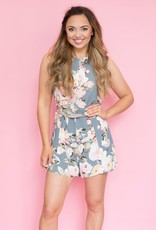 Privacy Please Lucy Floral Romper