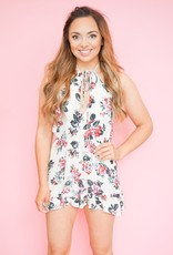 Roe + May May Floral Romper