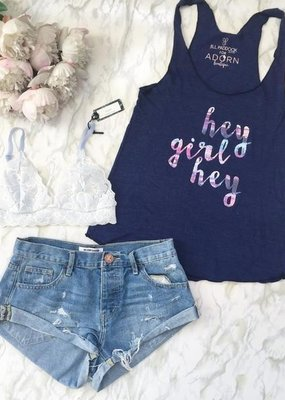 "Adorn Collection Clothing Adorn Collection ""Hey Girl"" Tank"