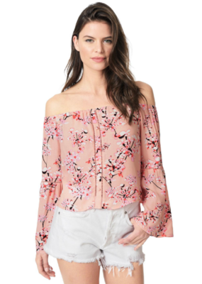 Cupcakes & Cashmere Audrina Off-the-Shoulder Top